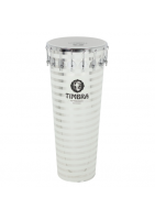 """TIMBRA TIMBA 14"""" x 90CM 74682 COLOR BLANCO A RAYAS HELICOIDAL"""