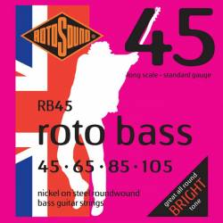 ROTOSOUND RB45 JUEGO CUERDAS BAJO 45-105